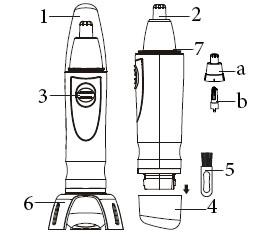 موزن گوش و بینی مدل TB 0616
