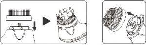 راهنمای دستگاه پاکسازی لرزشی و چرخشی تاچ بیوتی مدل TB 1782