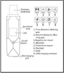 اسکراب التراسونیک کارینا مدل MZ 602
